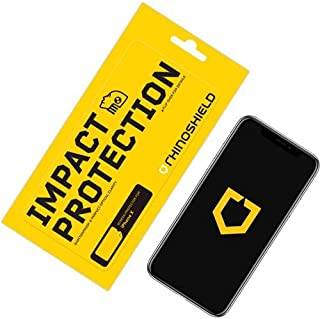 iPhone XS/X用RhinoShieldバックプロテクター[衝撃保護]パーツの通販なら  Croooober(クルーバー)高強度衝撃減衰/分散技術 - クリアおよびスクラッチ/指紋耐性保護