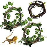 Reptile Bend-A-Branch Vines Flexible Leaves...