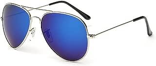 KTYXDE Men's Metal Frame Polarized Sunglasses Sunglasses (Color : Blue)