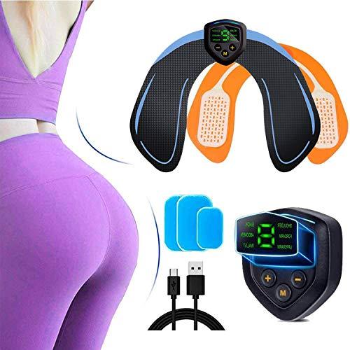MATEHOM Electroestimulador Muscular Gluteos,EMS Gluteos Estimulador de Glúteos Herramientas Nalgas HipTrainer para la Cadera,Estimulador Muscular Ejercitar Gluteos, Hombre y Mujer