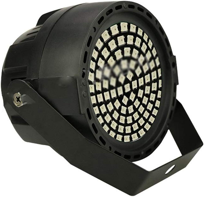 WTD-LED-Bühnenlicht, 91 127 runde, bunte Balken KTV Flash Sound Control-Effektlicht (9.5x12x12cm) (Farbe   Schwarz)