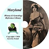 51 Old Books Maryland History & Genealogy on DVD Ancestry, Records, Family DVD-ROM – 2011