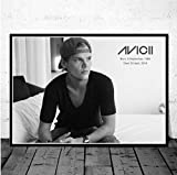 QINGRENJIE Hot Avicii Dj Musik Sänger Star Legende Pop