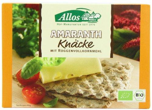 Allos Amaranth Knäcke, 6er Pack (6 x 250g)