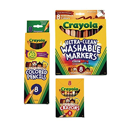 Crayola Multicultural Kit (Item # CRMULCUL)