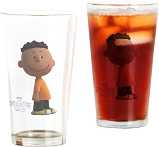 CafePress Franklin The Peanuts Movie Pint Glass, 16 oz. Drinking Glass