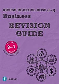 Pearson REVISE Edexcel GCSE (9-1) Business Revision Guide + App: for home learning, 2021 assessments and 2022 exams