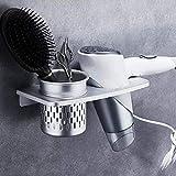 Los titulares secador de pelo alisadores de pelo y secadores de pelo Peluquería Secador de pelo almacenamiento Bastidores