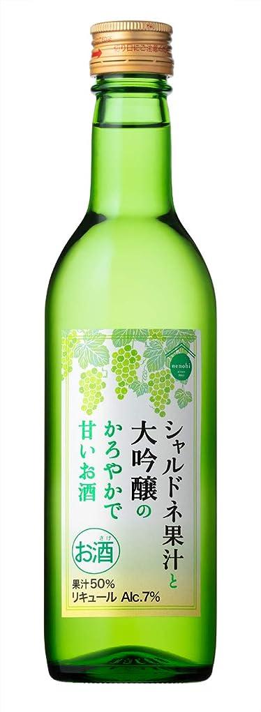 どこでも生まれ誰盛田 nenohi シャルドネ果汁と大吟醸のかろやかで甘いお酒 [ リキュール 360ml ]