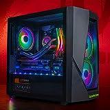 GameMachines Rage - Ordenador de sobremesa para gaming RGB, refrigeración por agua, Intel Core i7 10700F, NVIDIA GeForce RTX 2060 – 500 GB SSD – 2 TB disco duro – 16 GB DDR4 – WLAN – Win 10 Pro