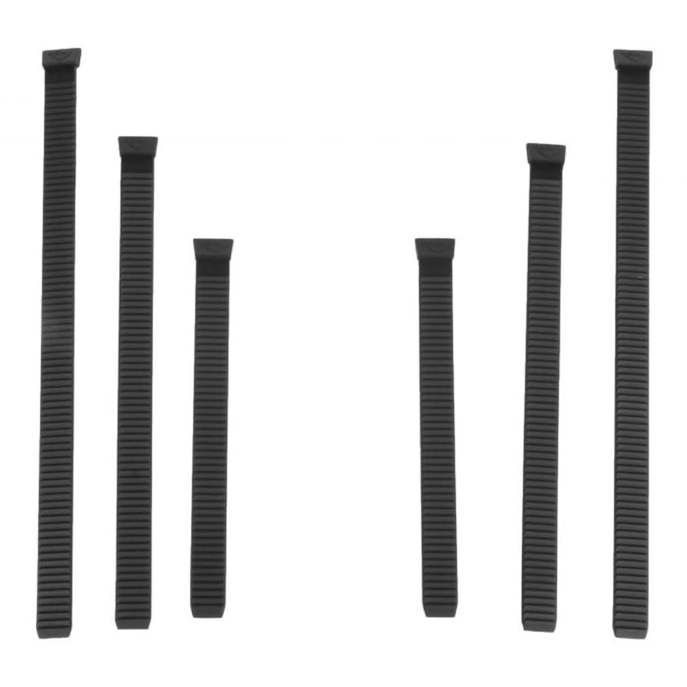 ホールドオール大腿侵入MSR ハイパーリンクストラップ Hyperlink Binding Strap Kit 3サイズ6本セット [並行輸入品]