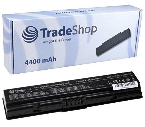 Hochleistungs Laptop Notebook Akku 4400mAh für TOSHIBA Dynabook AX T30 T31 Equium A200 L300 Satellite A200 A205 ersetzt PA3533U PA3534U-1BRS PA3535U-1BAS PA3535U-1BRS PABAS098 PABAS099 PA-3533-U
