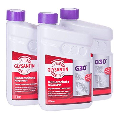 BASF GLYSANTIN Frostschutz Kühlerfrostschutz Konzentrat G30 PINK 4,5 L