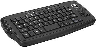 KKmoon 2.4GHz ワイヤレス キーボード ミニキーボード + スクロール ホイール付き マウス リモートコントロール Android TV BOX/スマート TV/PCノートブックに適用