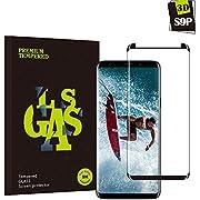 Samsung Galaxy S9 Plus Panzerglas Schutzfolie, Guanzer Hohe Qualität 3D Displayschutzfolie [9H Härtegrad] [Ultra Klar] [Anti-Fingerabdruck] [Blasenfreie Installation] Gehärtetes Glas Panzerglas Folie für Samsung Galaxy S9 Plus