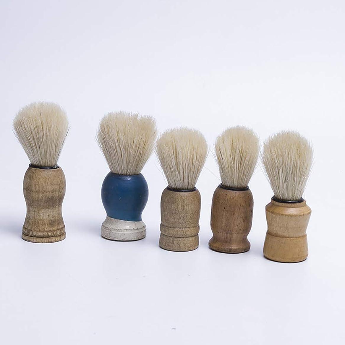 ピンポイント疎外コンペACHICOO 木製 ハンドルが付いている人 髭そり ブラシ 大広間 クリーニング 電気器具 剃毛用具 ブラシを剃っている人