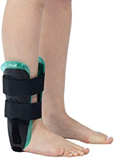 Air Gel Ankle Stirrup Brace,Adjustable Rigid Stabilizer Support Ankle Splint for Reduce Ankle Swelling and Inflammation, Relief Sprains and Arthritis Pain