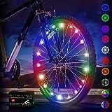 Activ Life Luce per Bicicletta LED (1 Pneumatico, Multicolore) Regali di Natale per Bambini Divertimento, Regali di Babbo Natale Top Secret 2020 X-mas