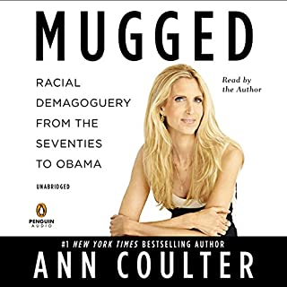 Mugged audiobook cover art