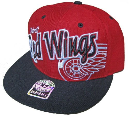 '47 Brand Detroit Red Wings Under Glow Snapback NHL Cap