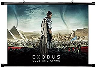 Exodus Gods and Kings Movie Fabric Wall Scroll Poster (32x20) Inches