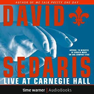 Couverture de David Sedaris Live at Carnegie Hall