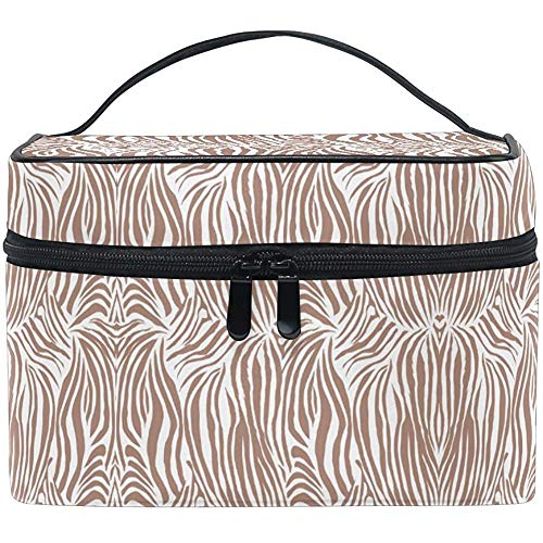 Maquillage Sac Drôle Zebra Grain Voyage Cosmétique Sacs Organisateur Train Case Toilette Make Up Pouch