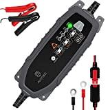 AUTOXEL Car Battery Charger and Maintainer 3.8A 6V 12V Intelligent Household Automotive Charger with 8 Modes...
