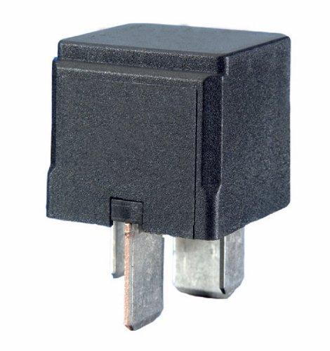 HELLA 4RA 007 793-031 Relais, Arbeitsstrom - 12V - 4-polig - Schaltbild: S2 - Steckerausf.-ID: B3 - Hochleistungs-Schließer - schwarz - ohne Halter