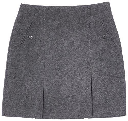 Trutex Limited GKS-BLK, Falda Para Niñas, Gris (Graphite), W24/L16