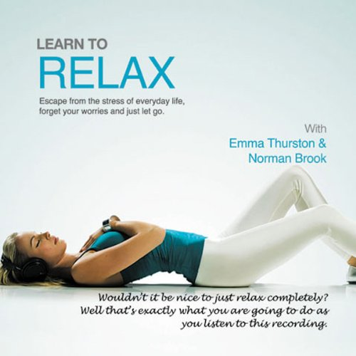 Learn to Relax audiobook cover art