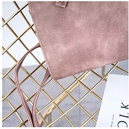 KHGFB Sac Femme Sac Printemps et été Nouvelles Dames Sacs à Main de Mode Simples Femmes Sac Petite Croix Sac Diagonal marée Sauvage Rose