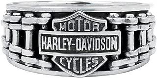 Best mens sterling silver harley davidson rings Reviews