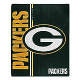 Northwest NFL Green Bay Packers 50x60 Raschel Restructure DesignBlanket, Team Colors, One Size (1NFL070860017RET)