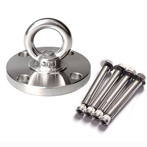 Loading Capacity: 2204 lbs SUS304 Stainless Steel...