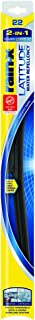 Rain-X 5079279-2 Latitude 2-in-1 Water Repellency Wiper Blade - 22-inches