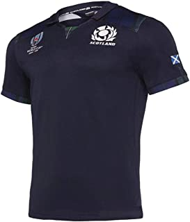Dandan Rugby Jersey 2019 World Cup Scotland Home and Away Rugby Men's Jersey Breathable Breathable