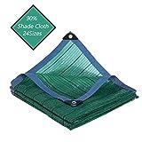 LJIANW Vela de Sombra Toldo Vela, Verde Shade Net Tela De Sombra Refugios De Sol for Jardín Patio Piscina RV Pabellón De Múltiples Fines 24 Tamaños (Color : Green, Size : 2x8M)