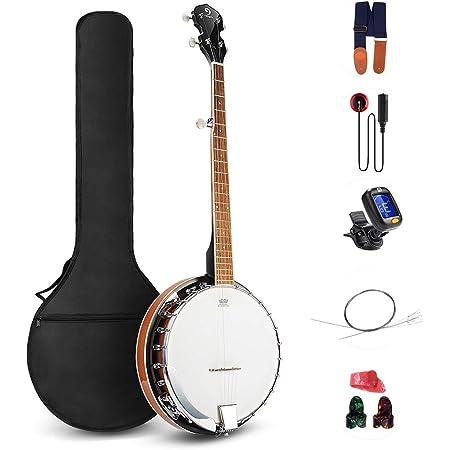 Custodia rigida standard per banjo in SOL Kinsman CBC5