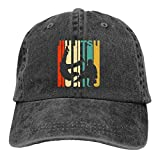 huatongxin Vintage Style Jiu Jitsu Gorra de Beisbol Vintage Washed Distressed Cotton Unisex Hat Adjustable Casquette Cap Sombreros de Vaqueros