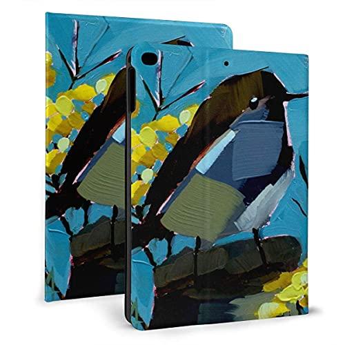 Aves Flip protector pu cuero cartera Tablets caso para IPad mini4/5 7.9 pulgadas, soporte giratorio inteligente magnético auto despertador/sueño cubierta casos