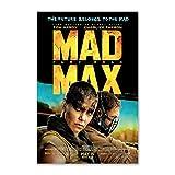 NCCDY Sci-Fi-Film-Poster Mad Max Fury Road Tom Hardy