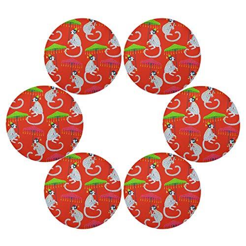 TropicalLife HaJie Chinoiserie - Juego de 1 salvamanteles individuales antideslizantes y resistentes al calor para el hogar, vacaciones, fiesta, comedor