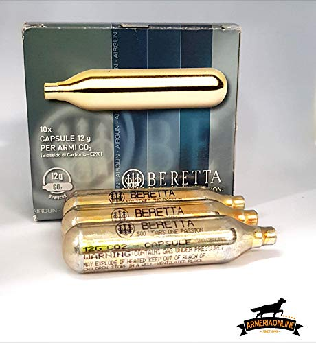 BERETTA BOMBOLETTE CO2 Soft Air Gas 12G per Pistola CO2 Libera Vendita Ricarica