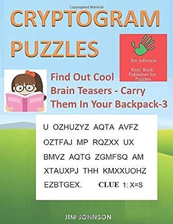 5c83f36e9 Amazon.com: backpack - Cryptic / Crosswords: Books