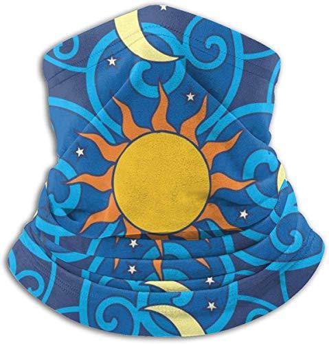 Sun And Moon Neck Gaiter Gesichtsmaske Bandana Nahtloses Stirnband Für Männer Frauen Sun UV Wind Staubschutz Skifahren Reiten Laufen