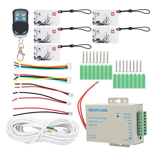 FECAMOS Videoportero de 7 Pulgadas, para monitoreo de Seguridad en el hogar, intercomunicador(Transl)