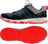 adidas Kanadia 7 TR M - Zapatillas para hombre,Negro /Rojo sol, 40 2/3