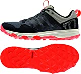 adidas Kanadia 7 Trail, Men's Running Shoes, Black - Schwarz (Core Black/Core Black/Solar Red), 7 UK (40.5 EU)