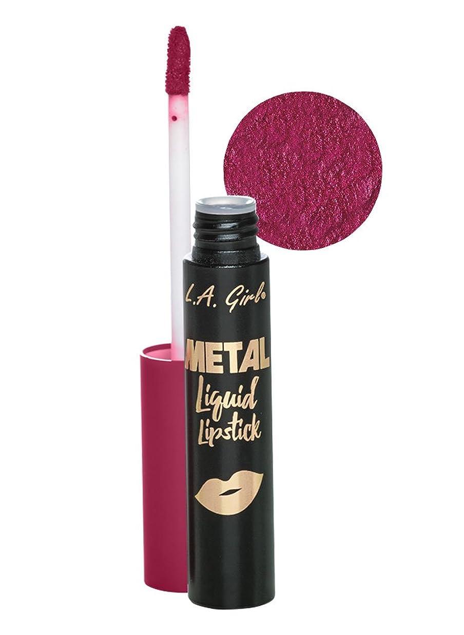 枯渇ソブリケットL.A. GIRL Metal Liquid Lipstick - Prism (並行輸入品)
